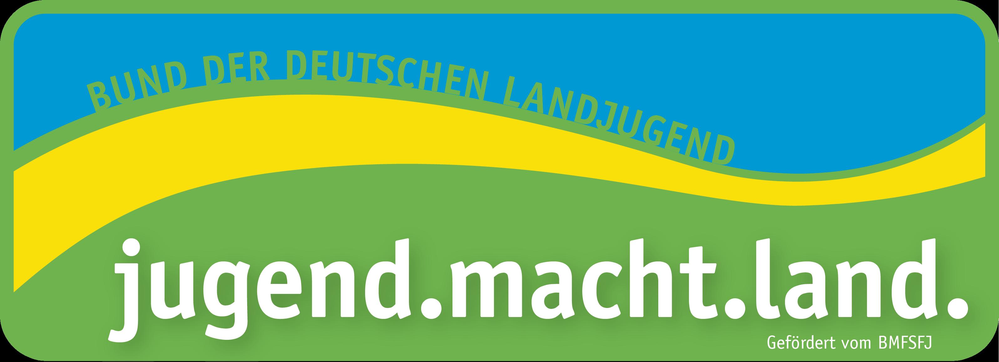 jugend.macht.land. Logo