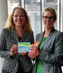 Doris Wagner, MdB und Kathrin Funk, Bundesvorsitzende im Paul-Löbe-Haus in Berlin diskutierten über Lebensperspektiven von Jugendlichen in ländlichen Räumen